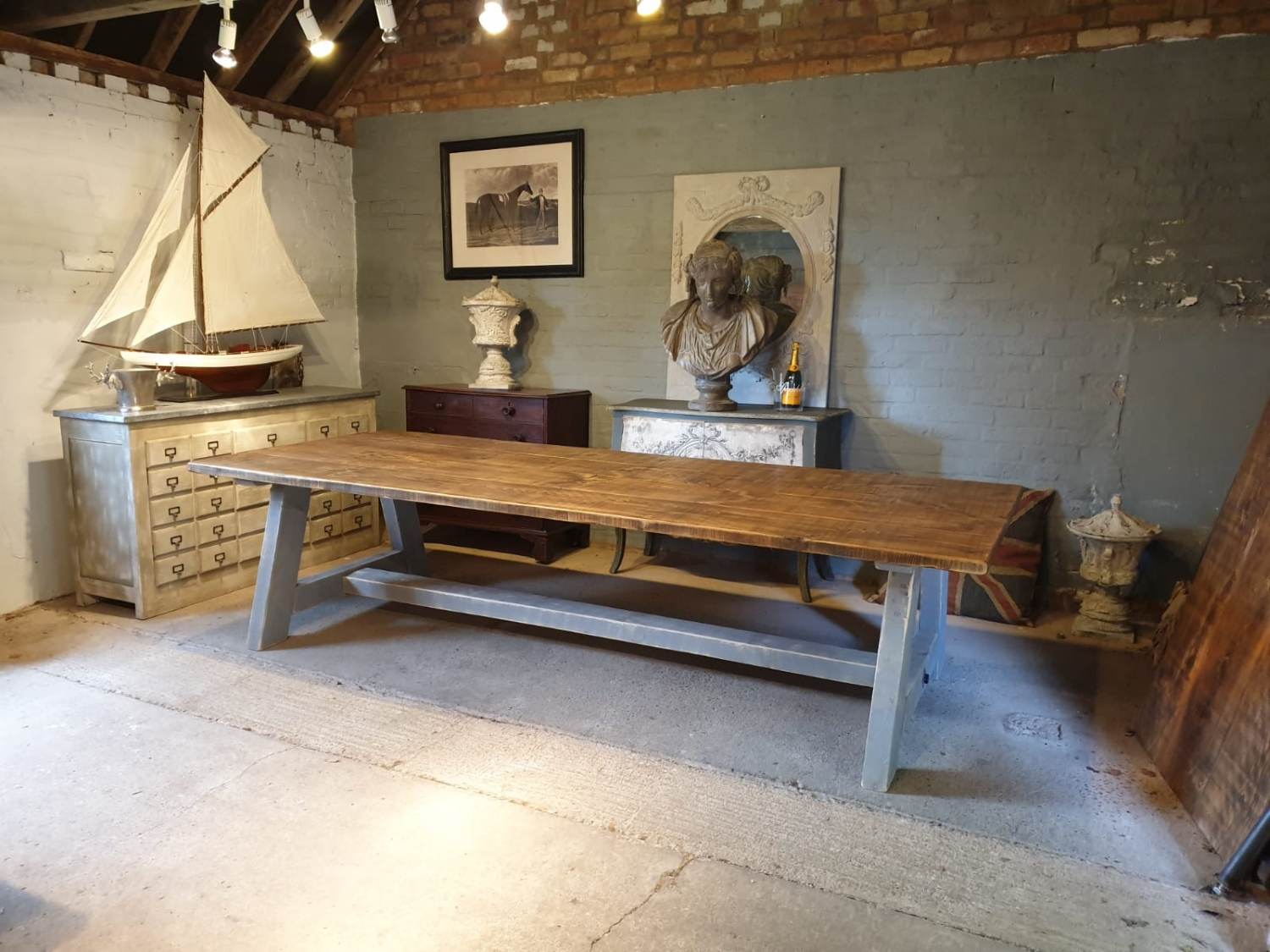 A-Frame Rustic Dining Table