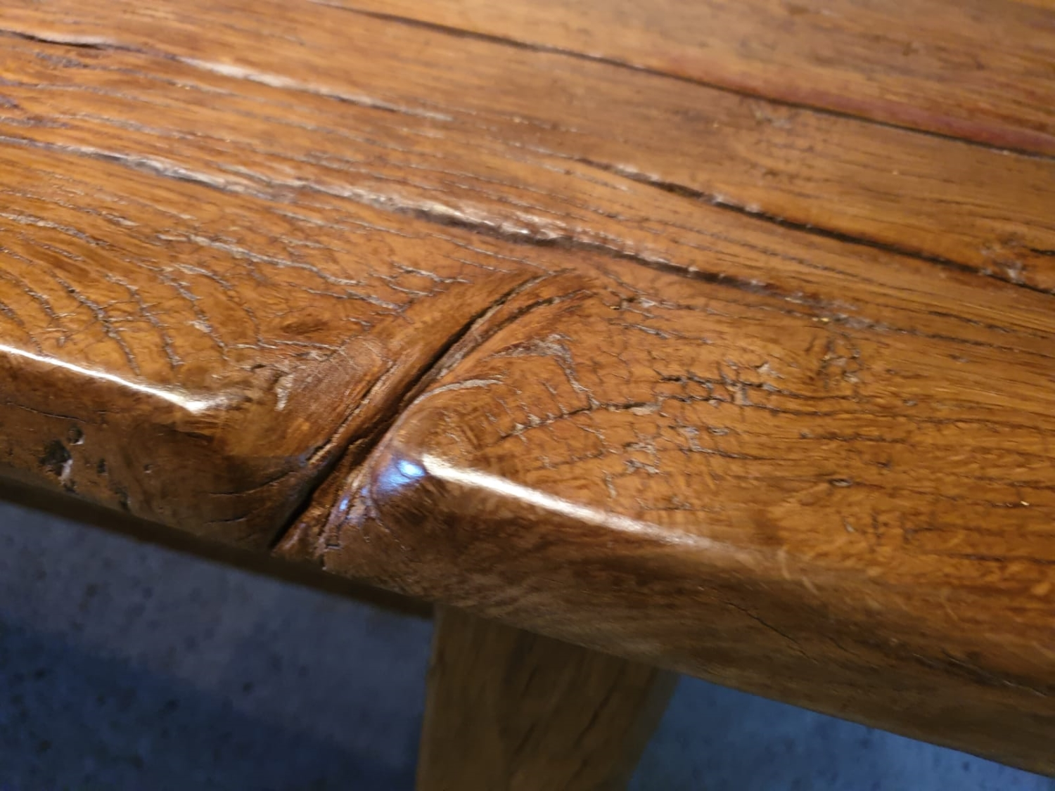 16th Century Oak Refectory Table