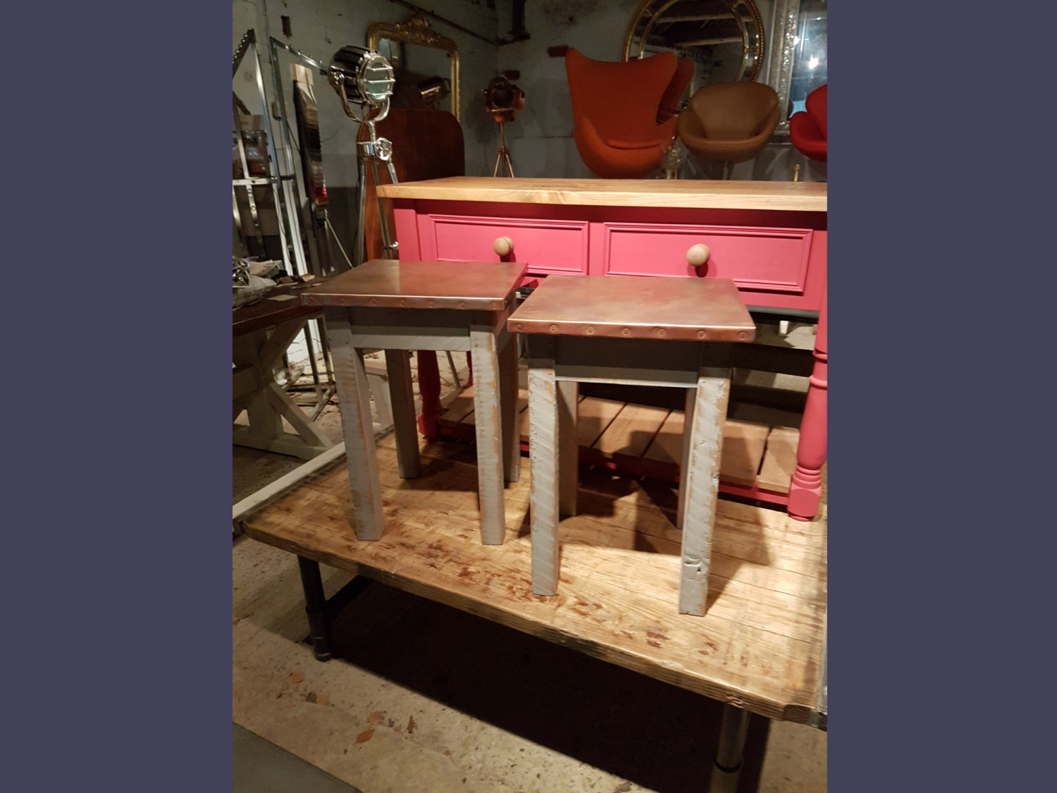 Bespoke Handmade Lamp Table - Any Design or Specification