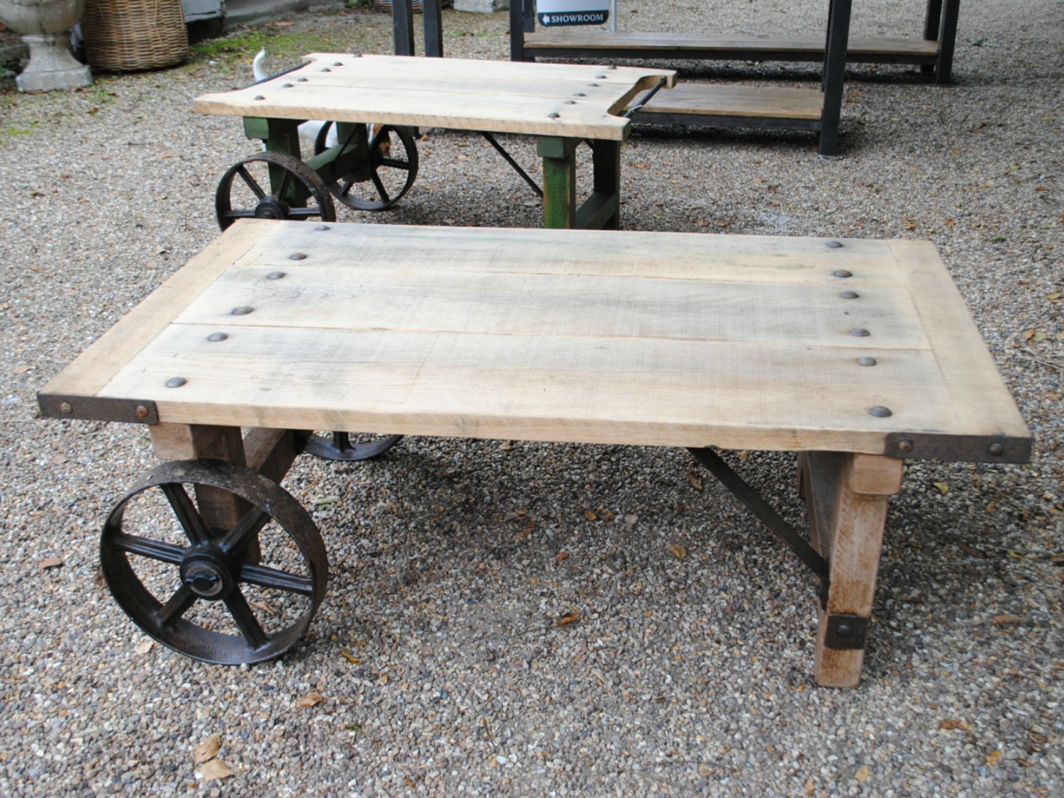 Industrial, Reclaimed Wood Coffee Table